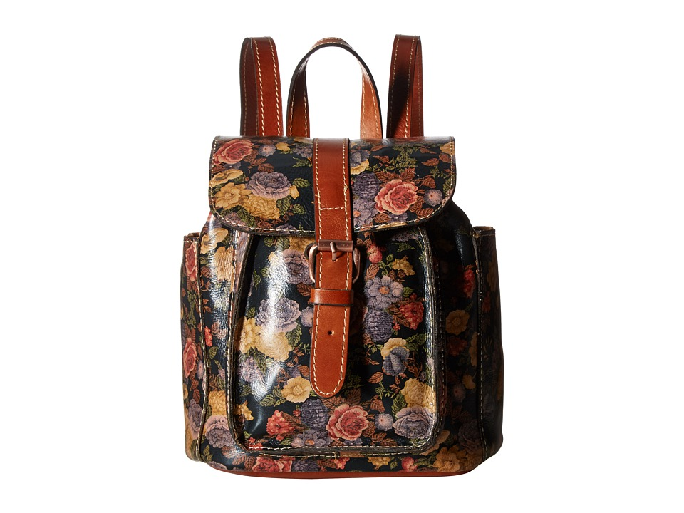 Patricia Nash - Aberdeen Backpack (Denim Fields Olive) Backpack Bags