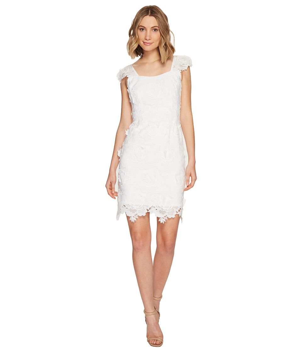 Nanette Lepore Secret Garden Dress (White) Women