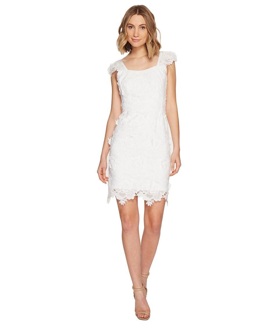 Nanette Lepore - Secret Garden Dress (White) Women's Dress