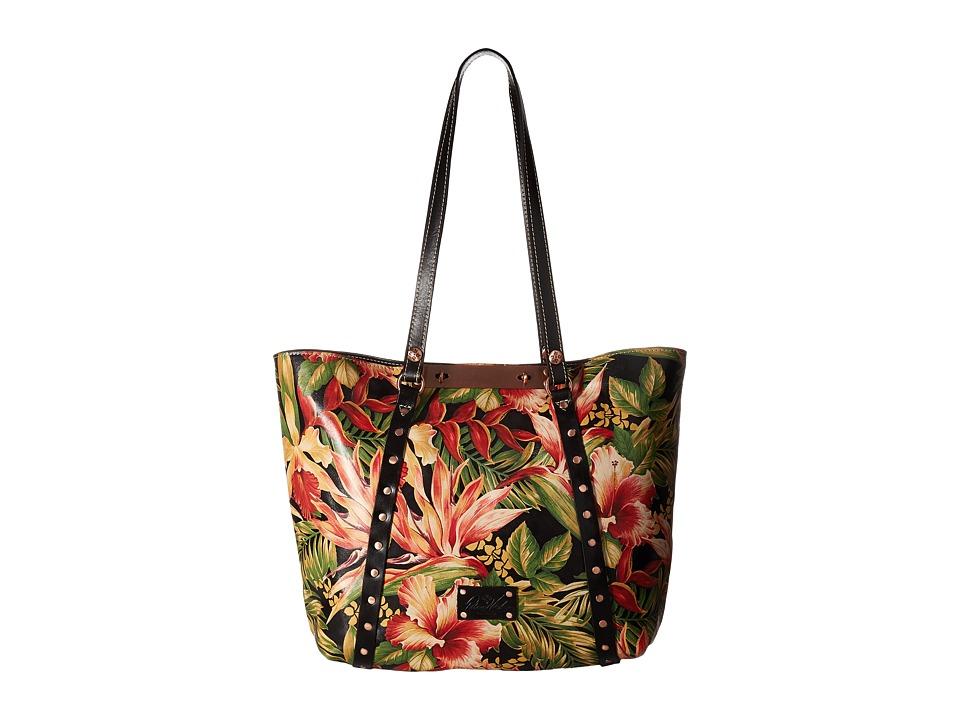Patricia Nash - Benvenuto Tote (Cuban Tropical Black) Tote Handbags