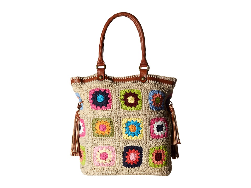 Patricia Nash - Bevera Tote (Tan Multi) Tote Handbags