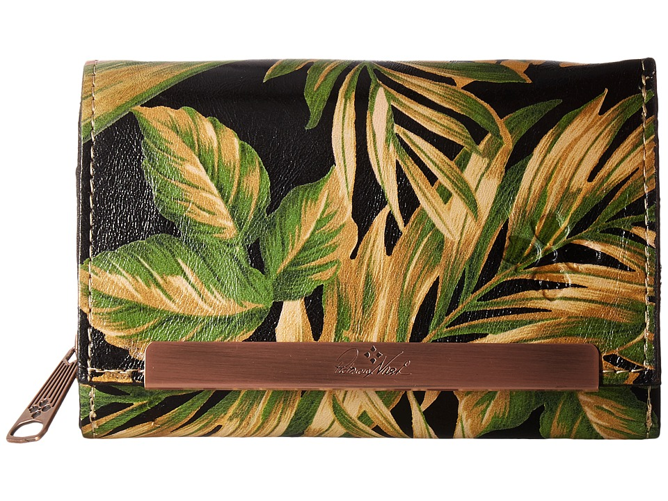 Patricia Nash - Cametti Wallet (Cuban Tropical Black) Wallet Handbags