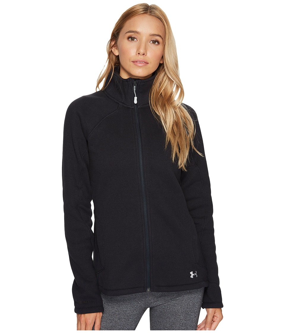 Under Armour - Wintersweet Jacket (Black/Glacier Gray) Women's Coat