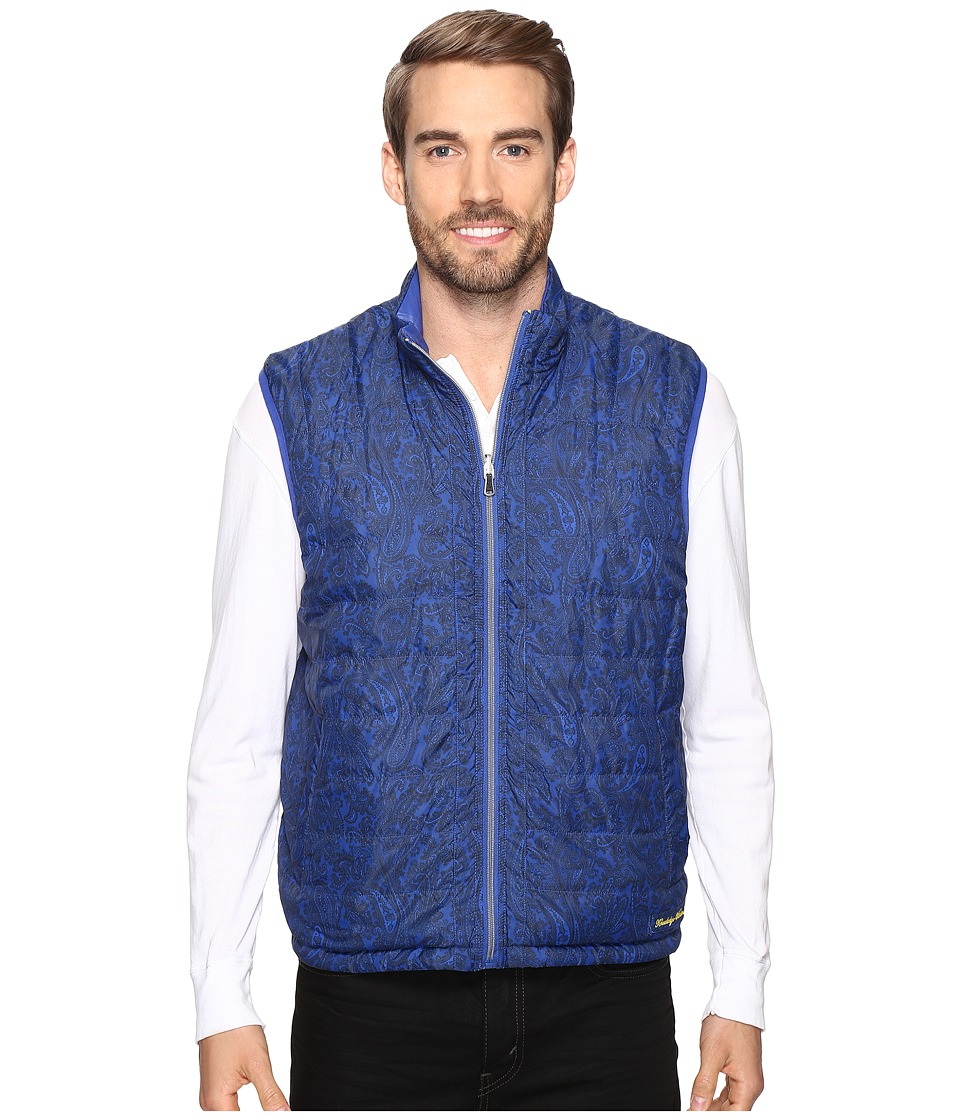 Robert Graham - The Lagoon Woven Vest (Blue) Men's Vest