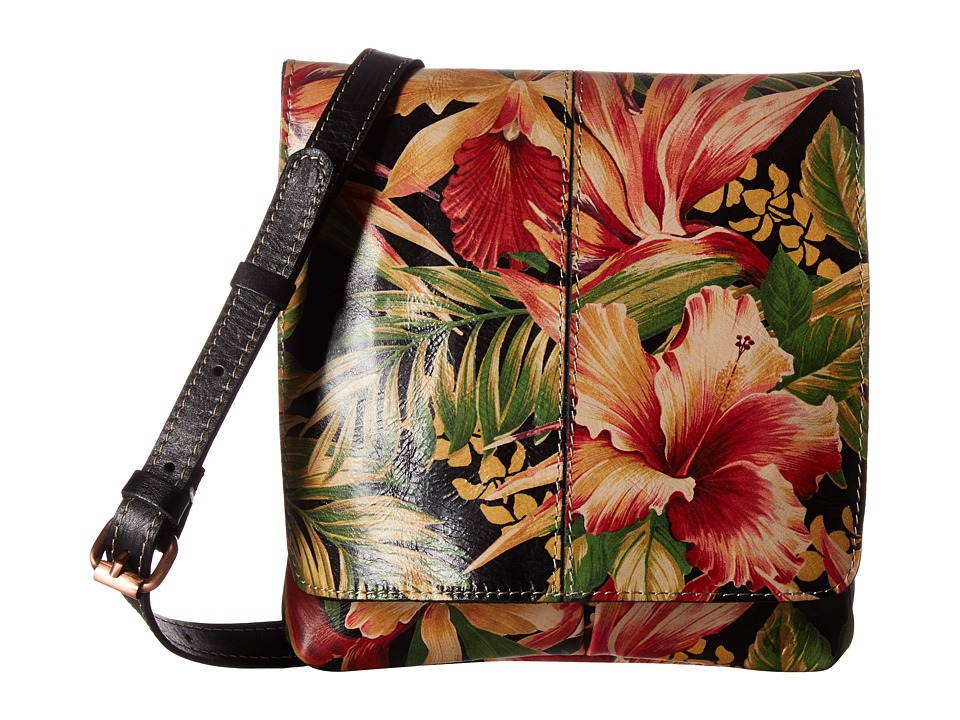 Patricia Nash - Granada Crossbody (Cuban Tropical Black) Cross Body Handbags