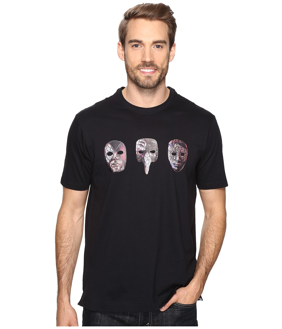 Robert Graham - Eyes Wide Shut Short Sleeve Knit T-Shirt (Black) Men's T Shirt