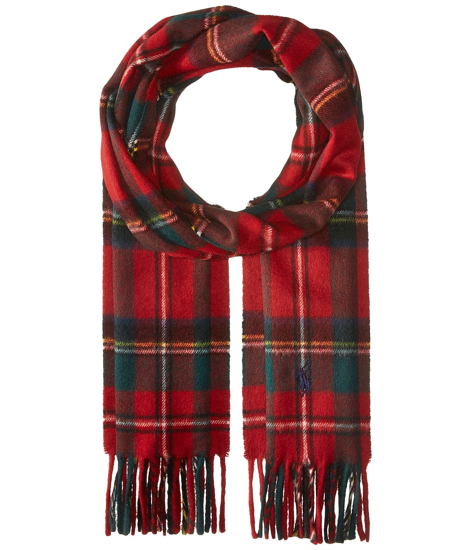 Polo Ralph Lauren - Essential Tartan Scarf (Red Stewart) Scarves