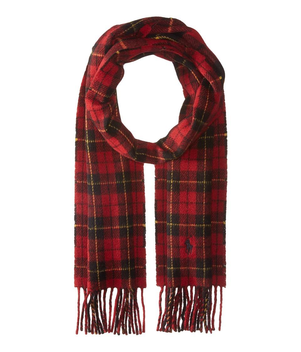 Polo Ralph Lauren - Doubleface Tartan (Red Tartan) Scarves