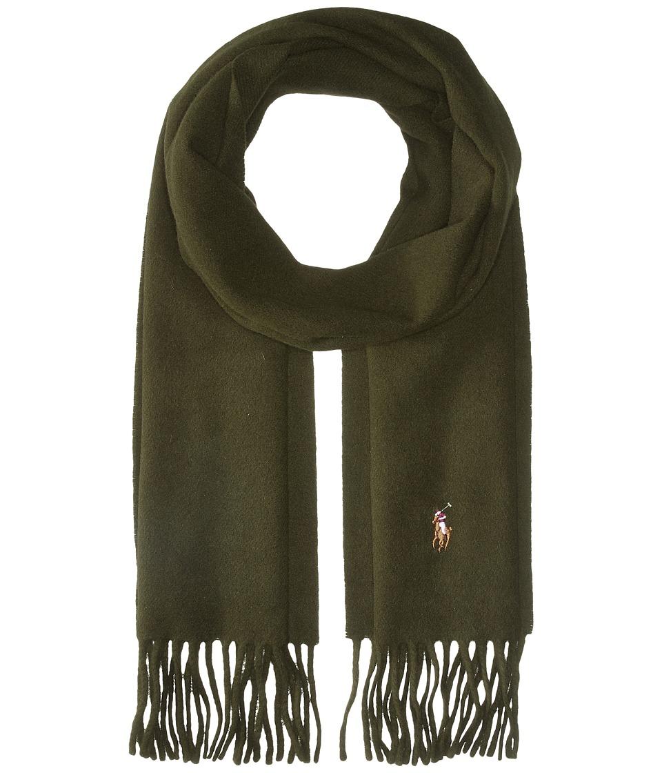 Polo Ralph Lauren - Signature Wool Scarf (Dark Loden) Scarves