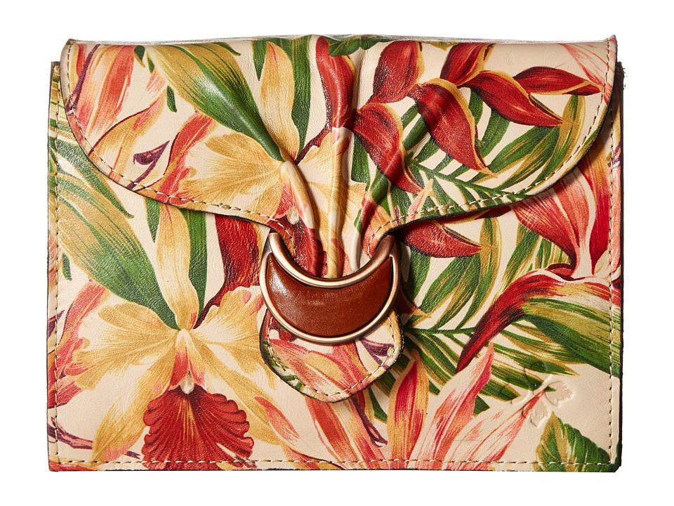 Patricia Nash - Van Sannio Trifold Clutch (Cuban Tropical Natural) Clutch Handbags