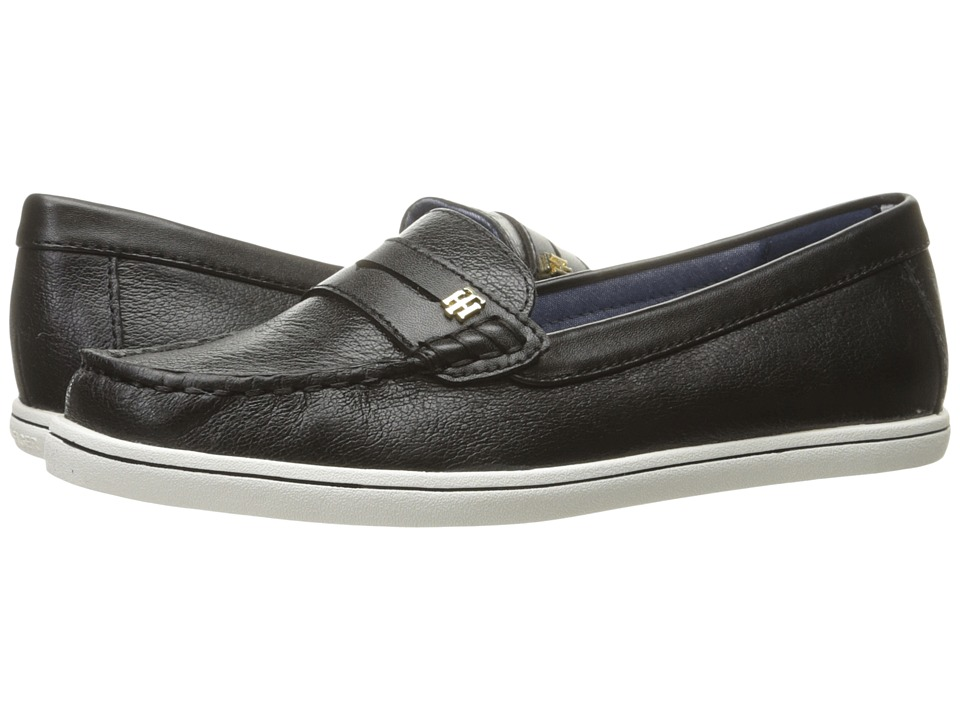 Tommy Hilfiger - Butter 4 (Black Leather) Women's Shoes