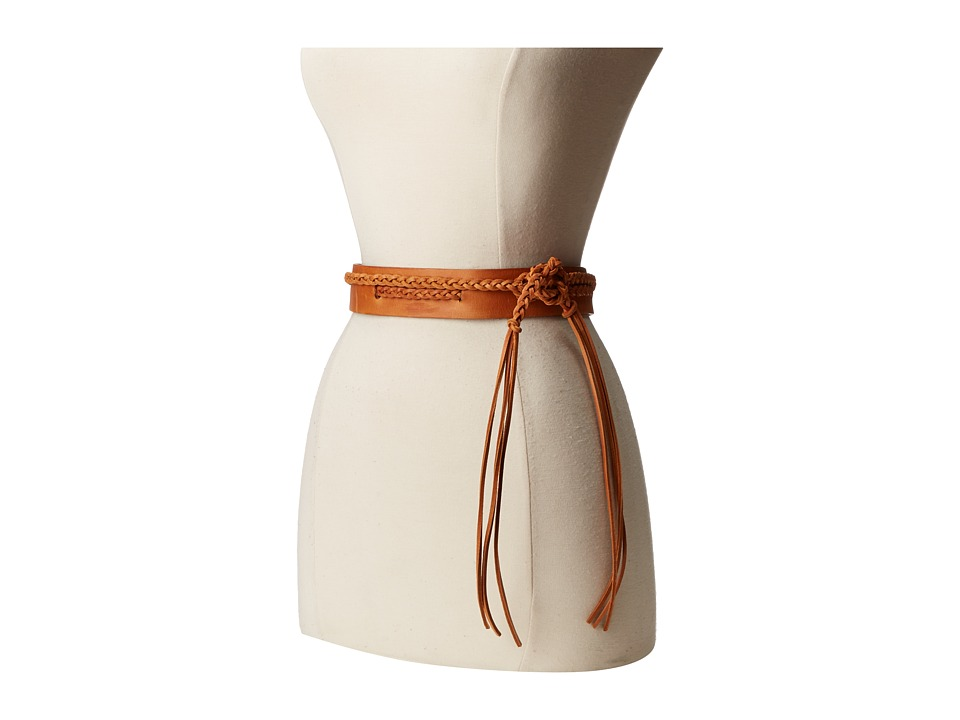 ADA Collection - Demi Wrap Belt (Cognac) Women's Belts