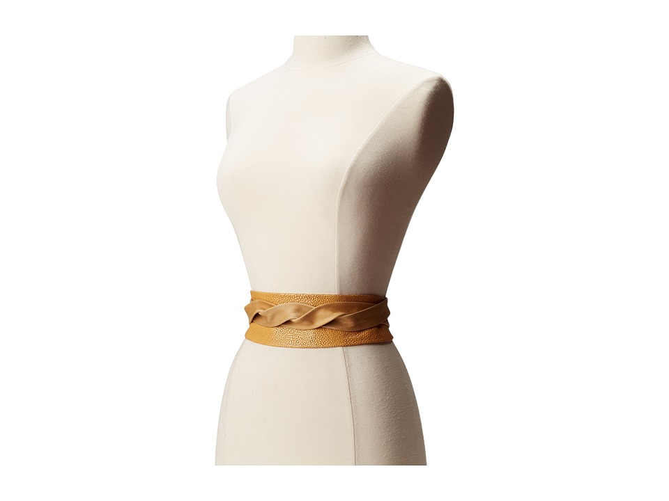 ADA Collection - Obi Classic Wrap (Camel Stingray) Women's Belts