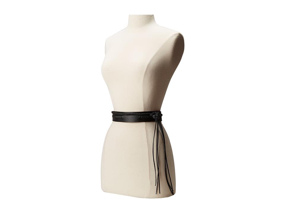 ADA Collection - Demi Wrap Belt (Black) Women's Belts
