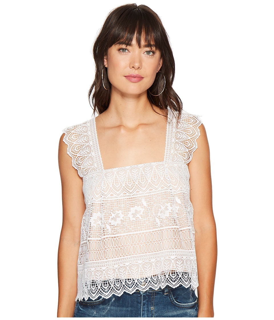 The Jetset Diaries - Lupita Top (Ivory) Women's Clothing