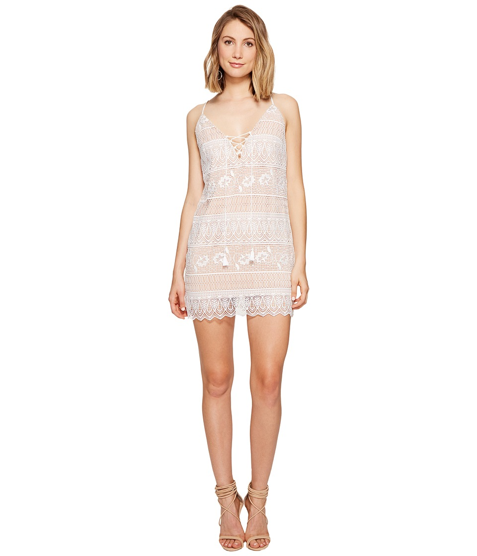The Jetset Diaries Lupita Mini Dress (Ivory) Women