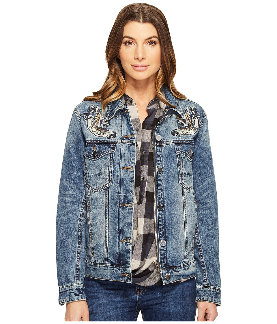 Blank NYC - Summertime Blues Jacket in Blue (Blue) Women's Jacket