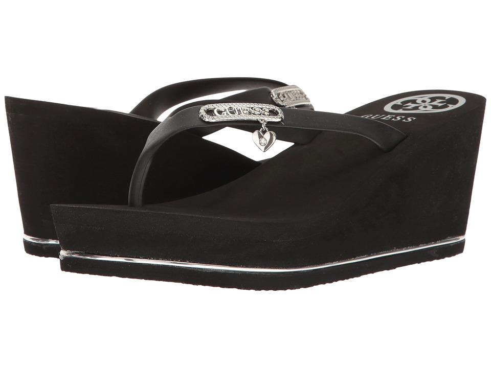 GUESS - Sahira (Black) Women's Shoes