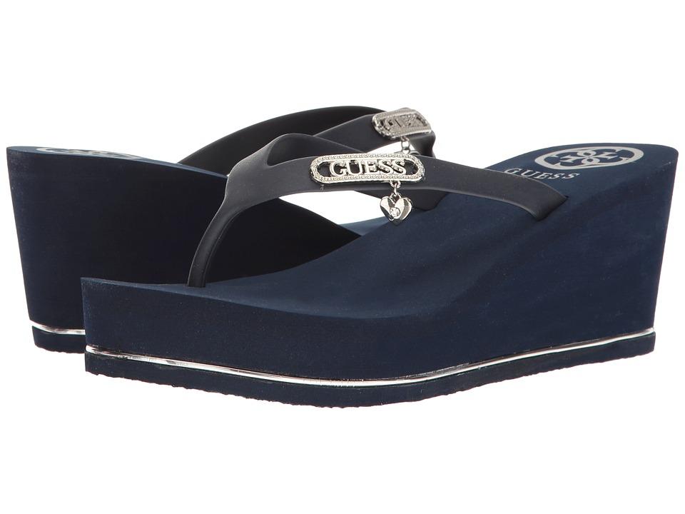 GUESS - Sahira (Navy) Women's Shoes