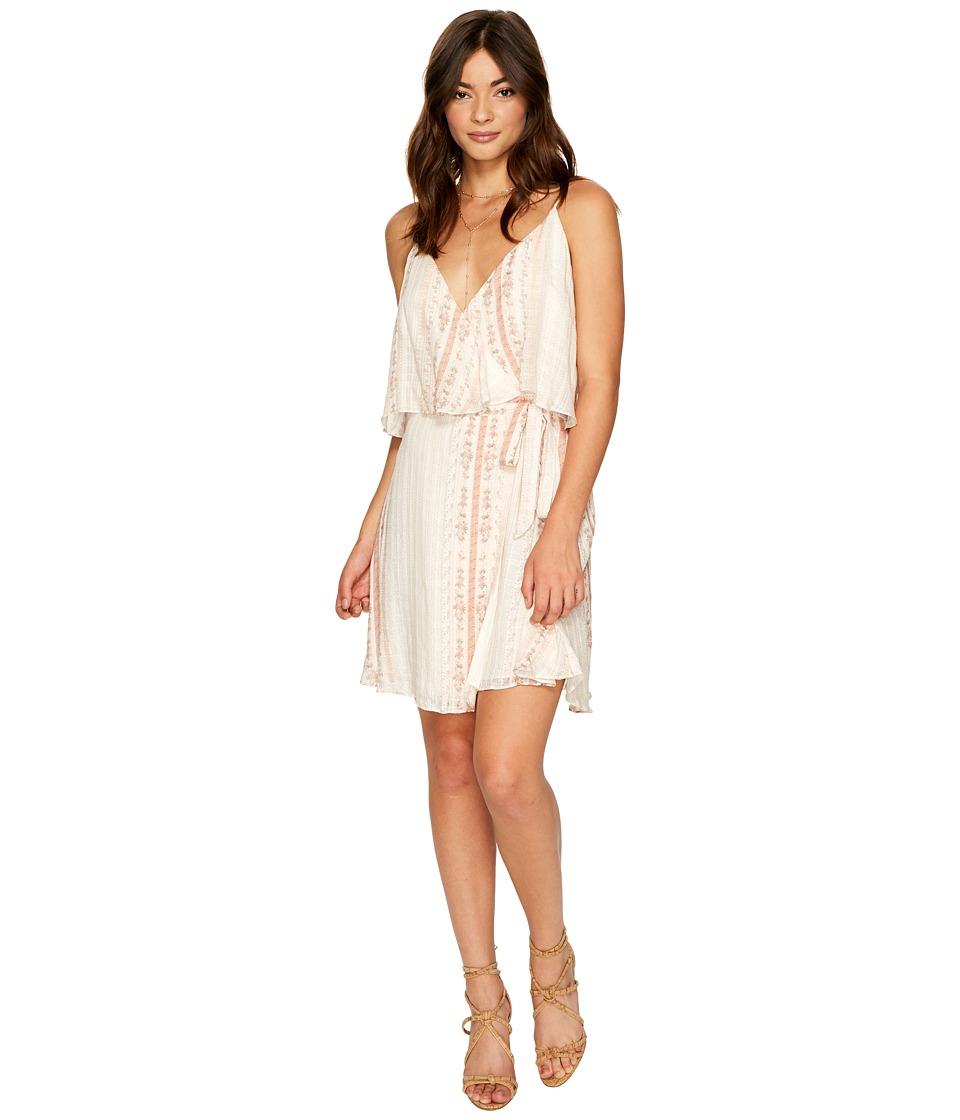 The Jetset Diaries - Halcyon Mini Dress (Floral Stripe) Women's Dress