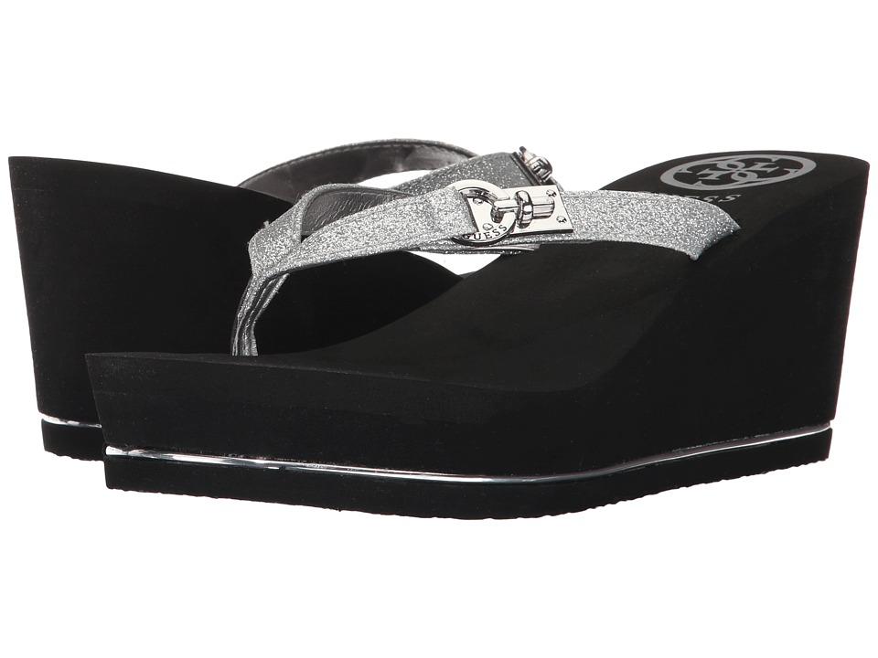 GUESS - Searli (Silver) Women's Shoes