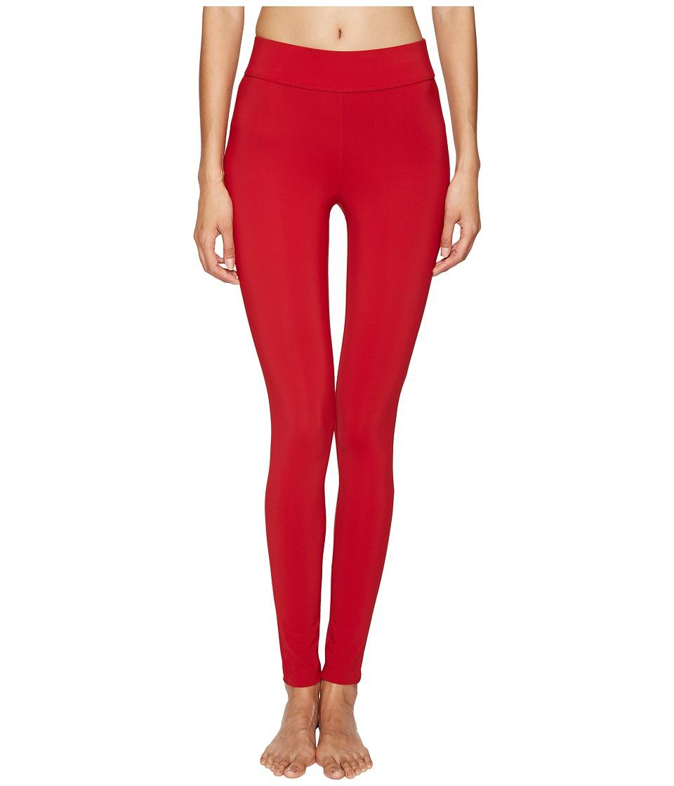 NO KA'OI - Kela Leggings (Red) Women's Casual Pants