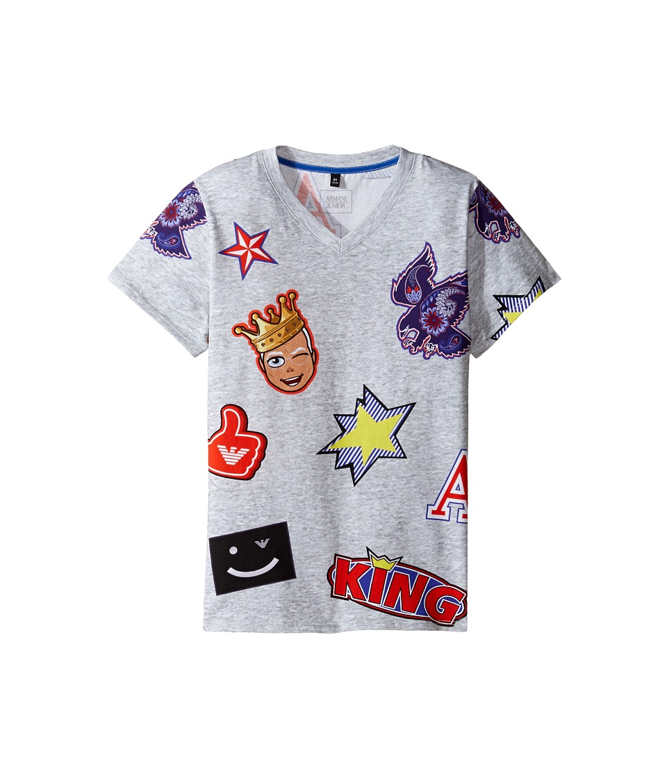Armani Junior - Funtastic Character Printed Tee (Toddler/Little Kids/Big Kids) (Multi) Boy's T Shirt