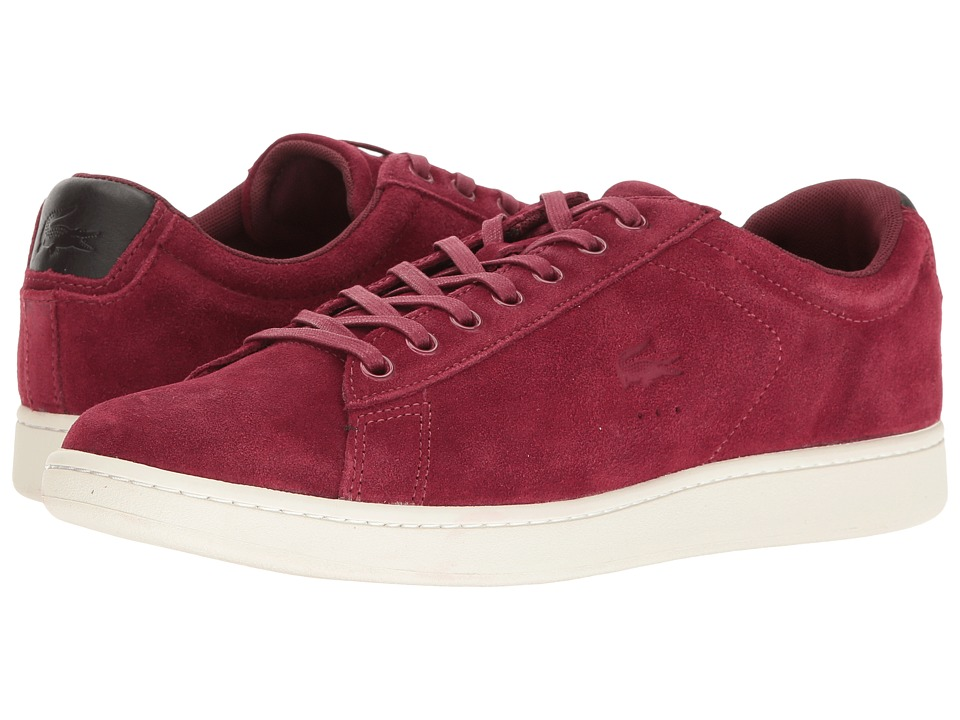 Lacoste - Carnaby Evo 4 SRM (Burgundy) Men's Shoes