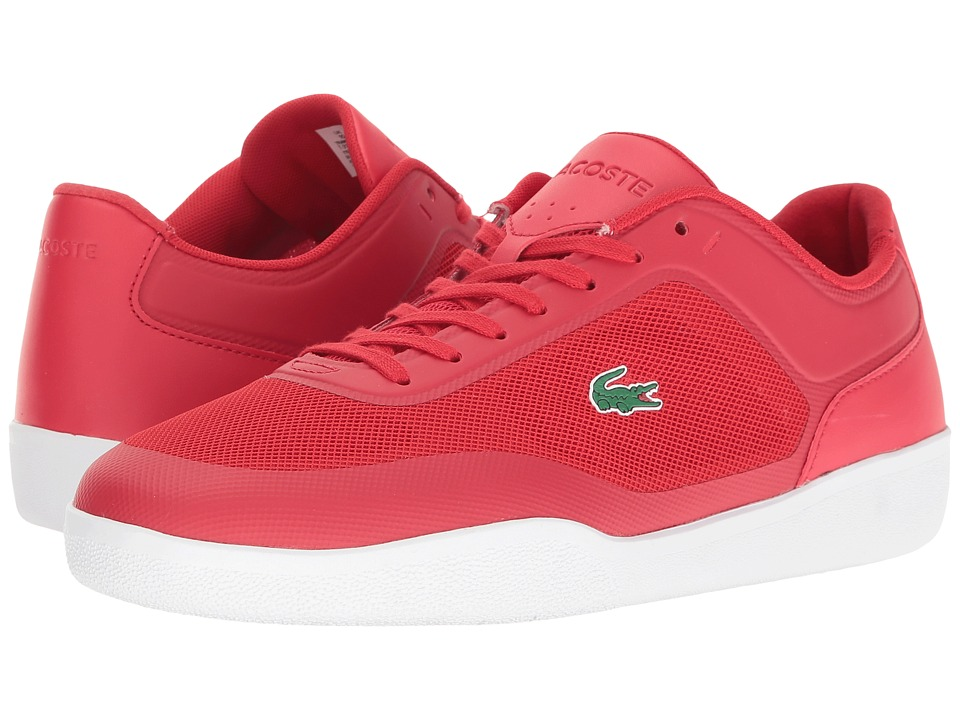 Lacoste - Tramline 216 1 SPM (Red) Men's Shoes