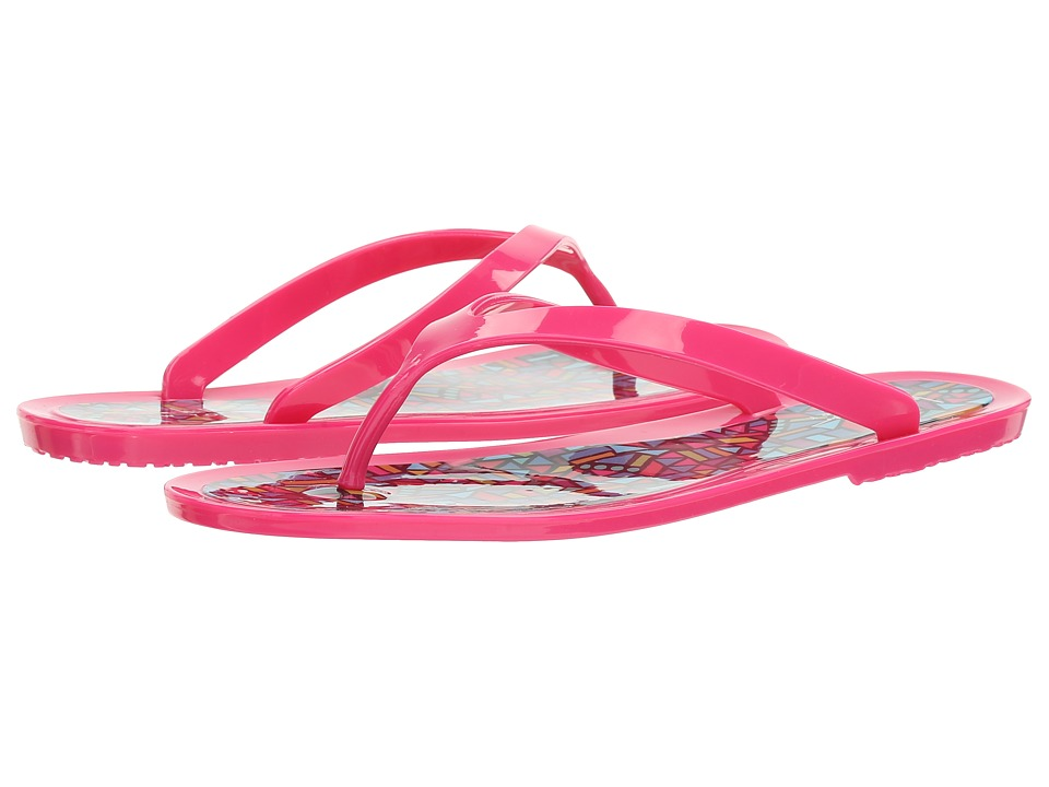 Nicole Miller New York - Flipper (Fuchsia/Equilateral) Women's Sandals