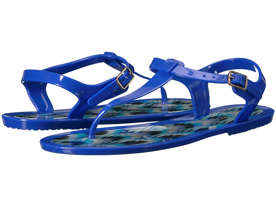 Nicole Miller New York - Monsoon (Cobalt/Fan Palm) Women's Sandals