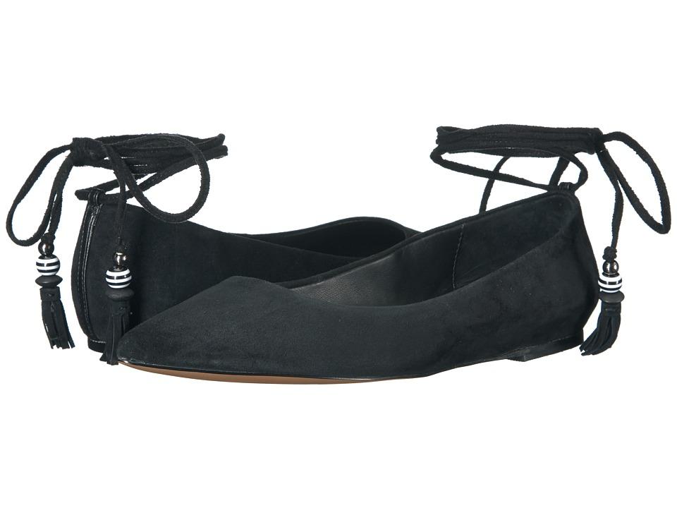 B Brian Atwood Skylar Black Suede Shoes