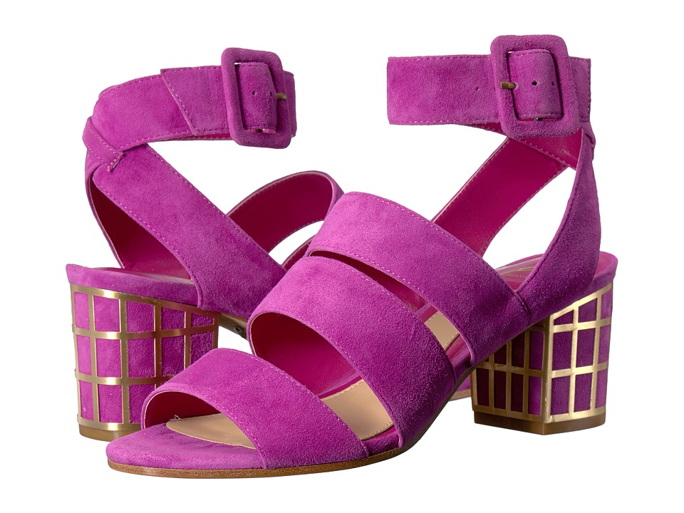 B Brian Atwood Baily Cosmo Pink Suede Shoes