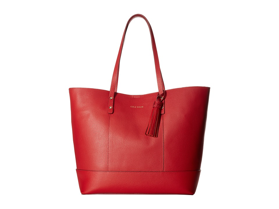Cole Haan - Bayleen Tote (True Red) Tote Handbags