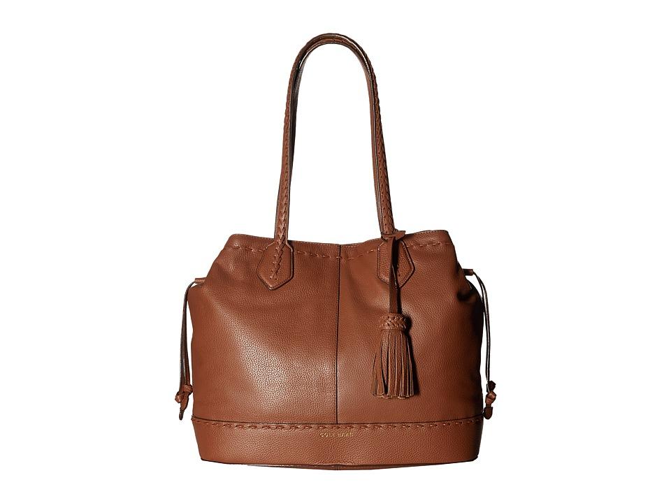 Cole Haan - Allesa Drawstring Tote (Woodbury) Tote Handbags