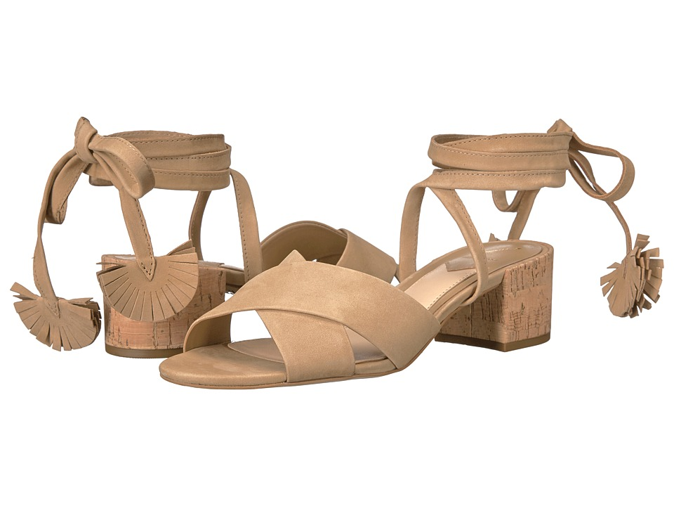 B Brian Atwood Astor Camel Nubuck Shoes