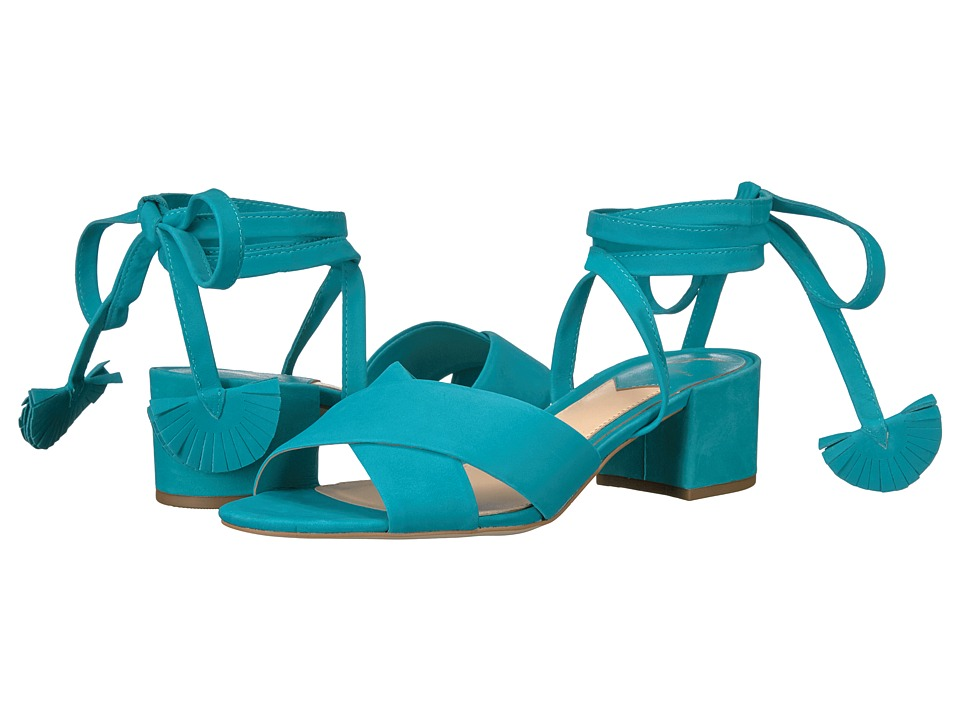 B Brian Atwood - Astor (Aqua Nubuck) Women's Shoes