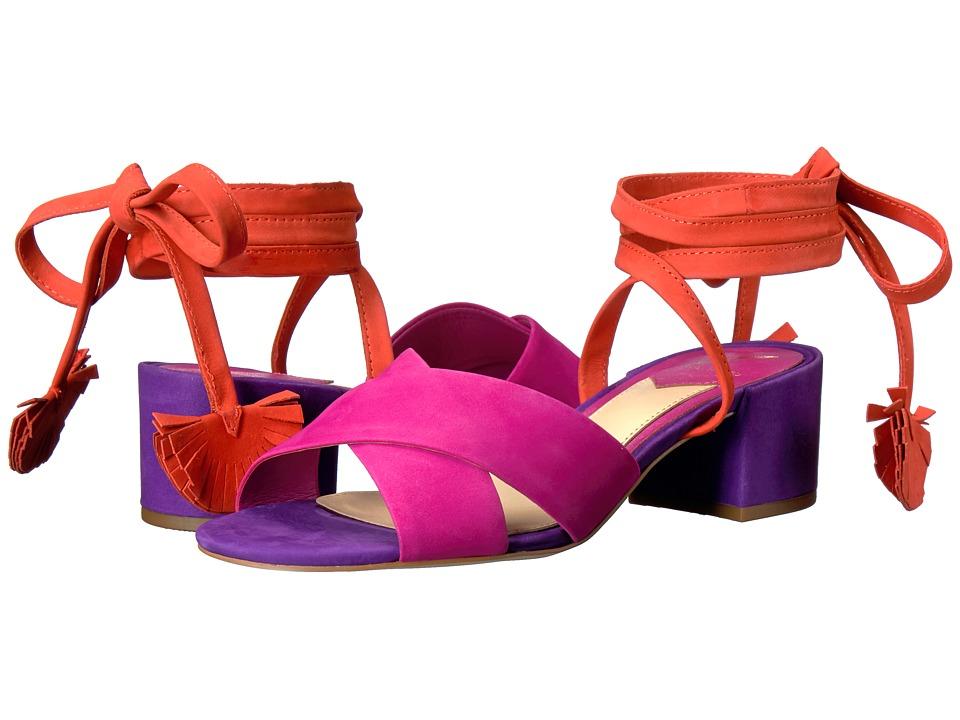 B Brian Atwood - Astor (Pink Multi Nubuck) Women's Shoes