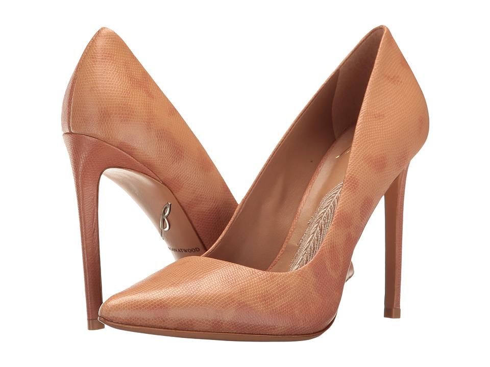 B Brian Atwood Masha Blush Leather Shoes