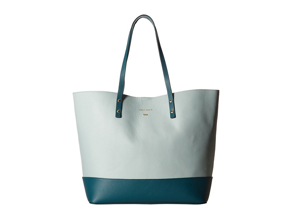 Cole Haan - Beckett Tote (Spearmint/Peacock) Tote Handbags