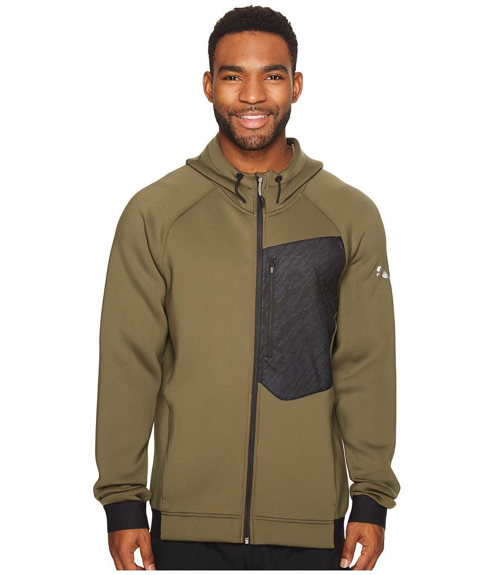 PUMA - Energy Training Full Zip (Olive Night) Men's Coat