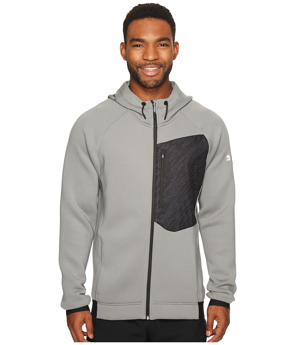 PUMA - Energy Training Full Zip (Medium Gray Heather) Men's Coat