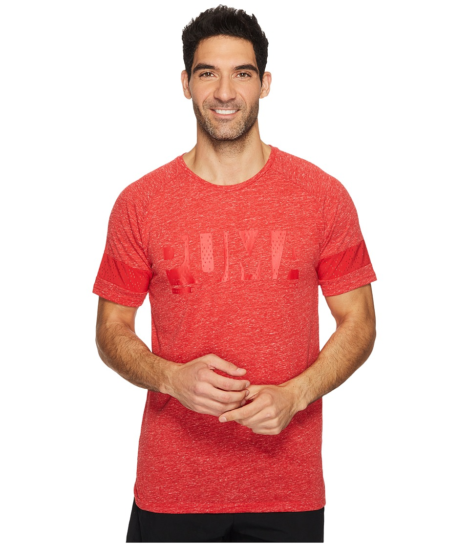 PUMA - Raglan Energy Tee (Toreador Heather) Men's T Shirt