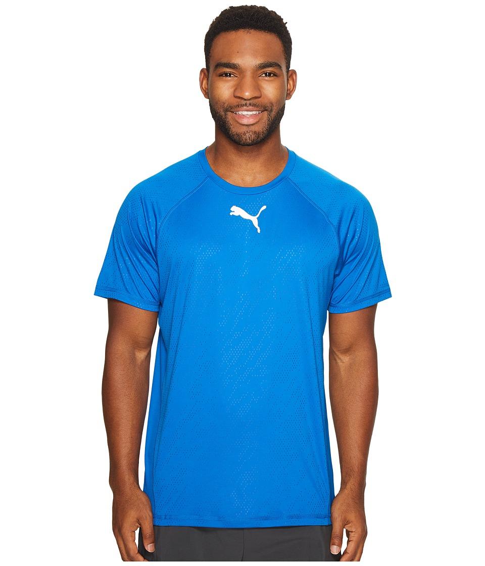 PUMA - Vent Short Sleeve Tee (Lapis Blue) Men's T Shirt
