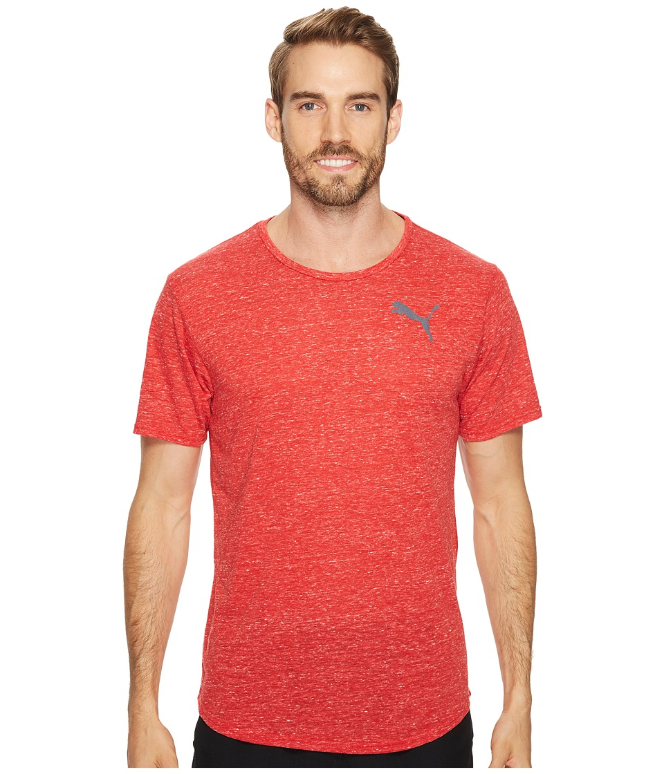 PUMA - Dri-Release Novelty Tee (Toreador Heather) Men's T Shirt