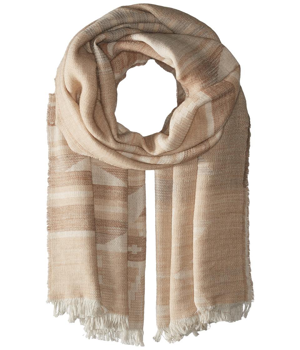 Polo Ralph Lauren - Lightweight Camel Beacon Wrap (Camel Beacon) Scarves