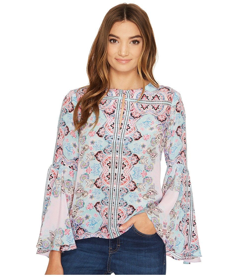 Nanette Lepore - Other World Top (Cloud Multi) Women's Clothing