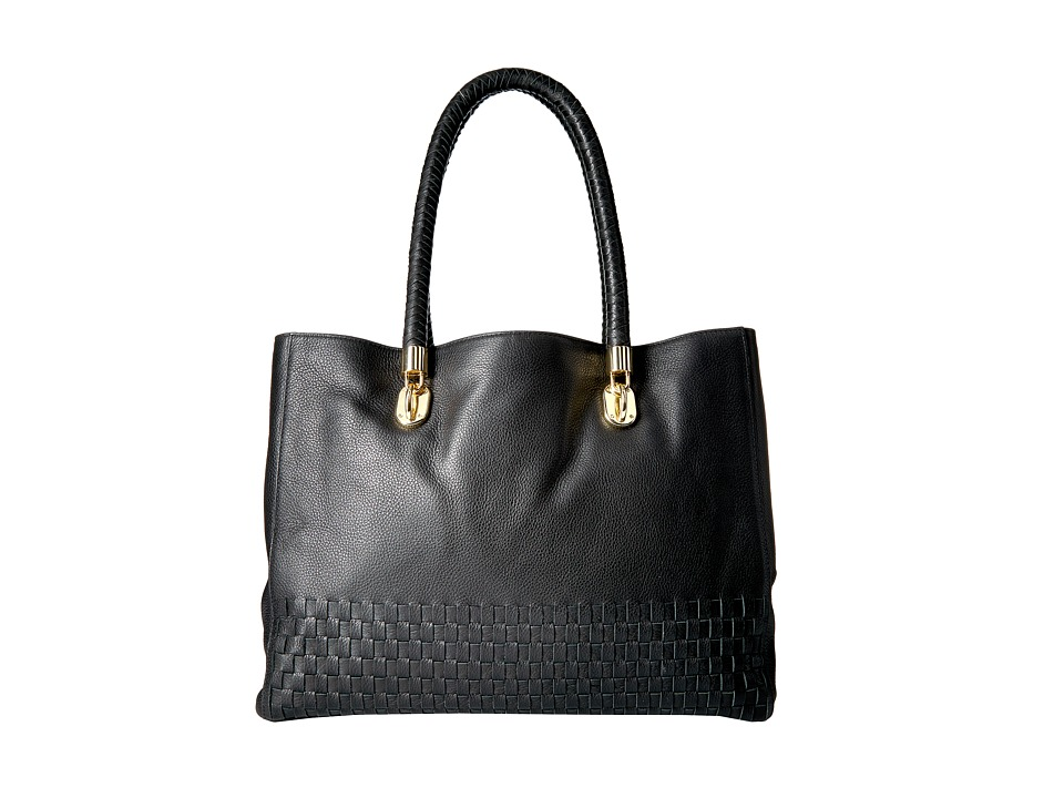 Cole Haan - Benson Novelty Tote (Black) Tote Handbags