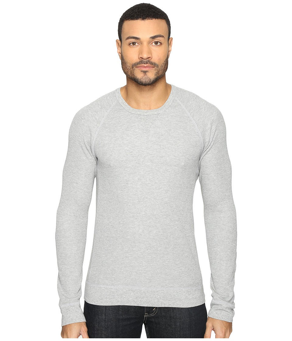 Splendid Mills - Thermal Crew (Heather Grey) Men's Clothing