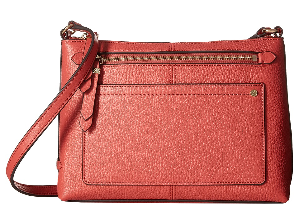 Cole Haan - Ilianna Crossbody (Mineral Red) Cross Body Handbags